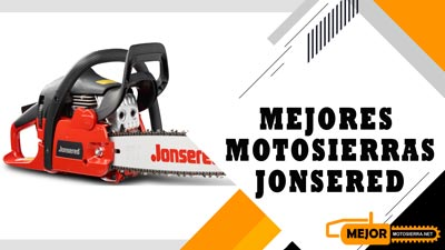 Mejores Motosierras Jonsered